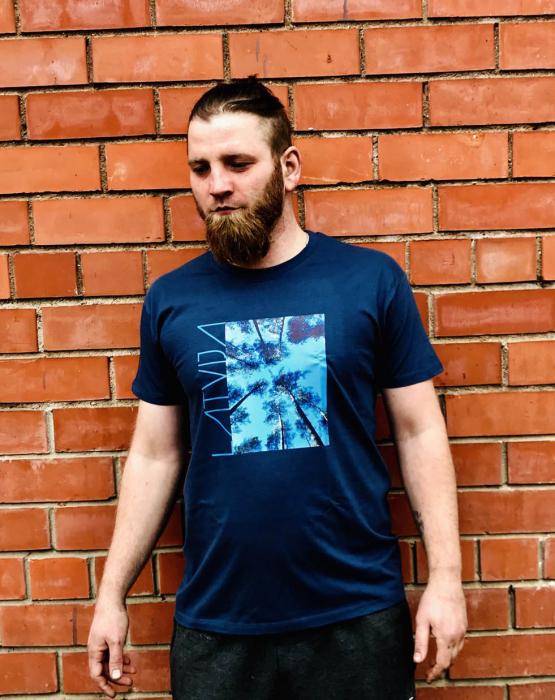 """T-krekls """"Latvijas koki"""" vīriešu"""
